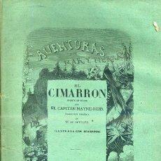 Libros antiguos: MAYNE REID : EL CIMARRÓN (GASPAR Y ROIG. 1872) 1ª EDICIÓN EN ESPAÑOL. Lote 43028648