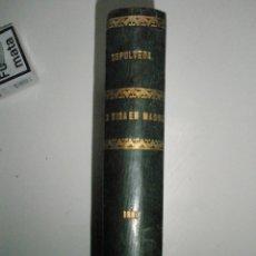 Libros antiguos: SEPÚLVEDA,E.: LA VIDA EN MADRID EN 1887. Lote 43034548