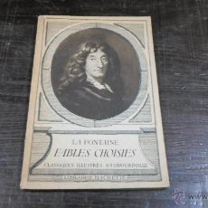 Libros antiguos: LA FONTAINE, FABLES CHOISIES, LIBRAIRIE HACHETTE. Lote 43105982