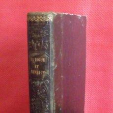 Libros antiguos: LIBRO LA LIGUE ET HENRI IV - 1843. Lote 43138937