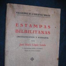 Libros antiguos: ESTAMPAS BILBILITANAS MONUMENTOS Y PAISAJES. DEDICATORIA DEL AUTOR 1934. Lote 43198766