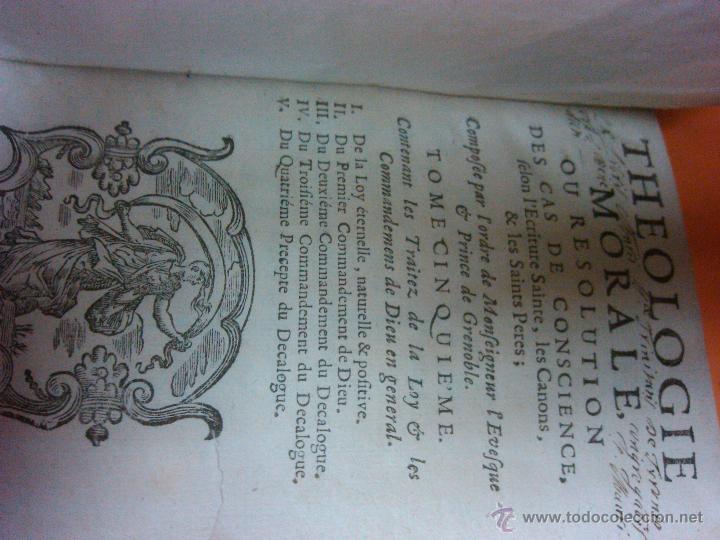 Libros antiguos: LIBRO ANTIGUO THEOLOGIE MORALE AÑO 1683 SIGLO XVII Precio: 389,00 € - Foto 2 - 43226541