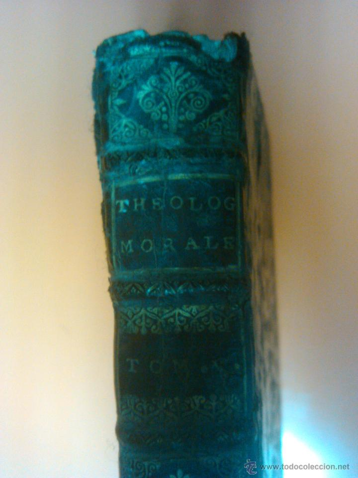 Libros antiguos: LIBRO ANTIGUO THEOLOGIE MORALE AÑO 1683 SIGLO XVII Precio: 389,00 € - Foto 3 - 43226541
