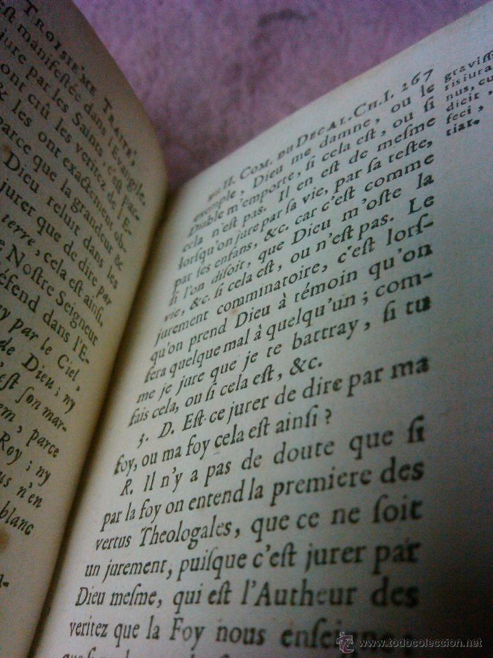 Libros antiguos: LIBRO ANTIGUO THEOLOGIE MORALE AÑO 1683 SIGLO XVII Precio: 389,00 € - Foto 8 - 43226541