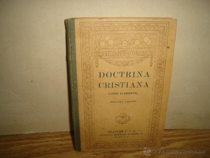 DOCTRINA CRISTIANA - F. T. D. - 1923 (Libros Antiguos, Raros y Curiosos - Ciencias, Manuales y Oficios - Otros)
