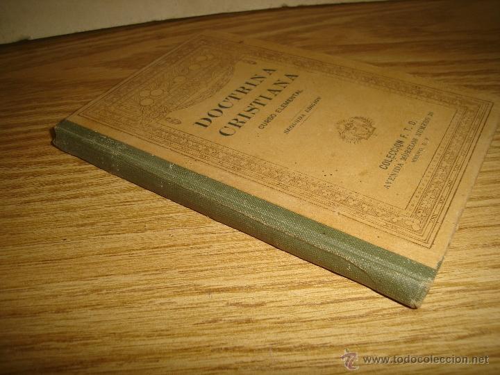 Libros antiguos: Doctrina Cristiana - F. T. D. - 1923 - Foto 2 - 43236602