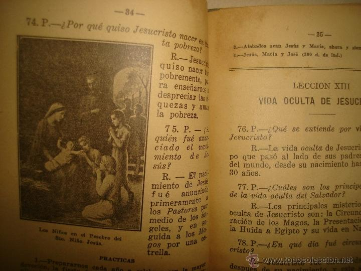 Libros antiguos: Doctrina Cristiana - F. T. D. - 1923 - Foto 4 - 43236602