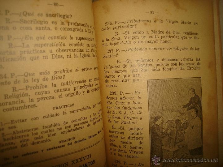 Libros antiguos: Doctrina Cristiana - F. T. D. - 1923 - Foto 5 - 43236602