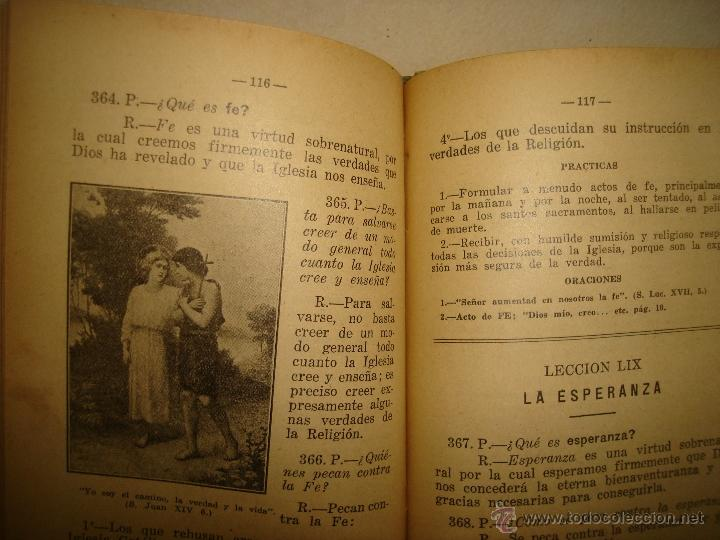 Libros antiguos: Doctrina Cristiana - F. T. D. - 1923 - Foto 6 - 43236602