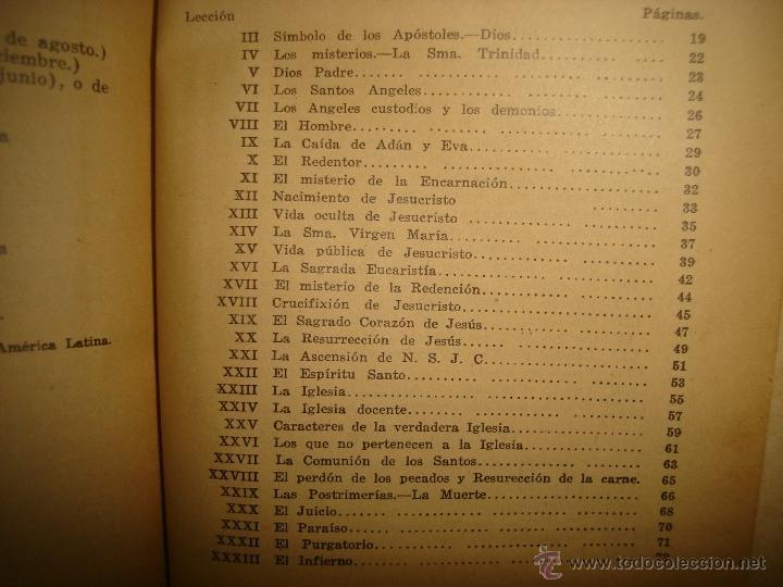 Libros antiguos: Doctrina Cristiana - F. T. D. - 1923 - Foto 8 - 43236602