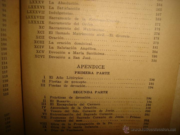 Libros antiguos: Doctrina Cristiana - F. T. D. - 1923 - Foto 12 - 43236602