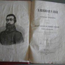 Alte Bücher - D. Francisco de P. Cuello. Ceferino Tresserra. Colección de Crímenes Célebres - 43241469