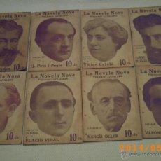 Libros antiguos: LA NOVELA NOVA - PUBLICACIÓ CATALANA - NUMS.1 AL 100 - PRIMER NÚMERO DEL 3 MAIG 1917- SETMANALS. Lote 43251570