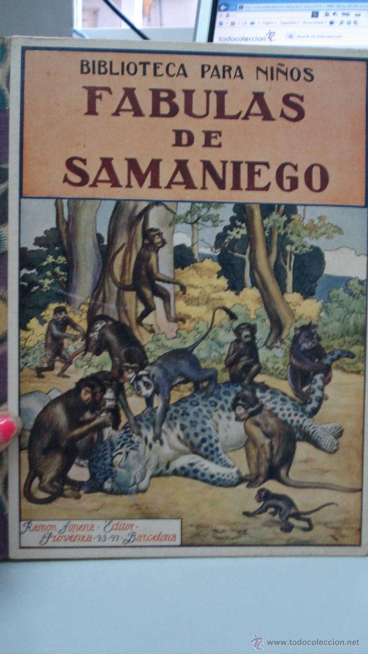 FABULAS DE SAMANIEGO, 1934 DE FELIX MARIA SAMANIEGO (Libros Antiguos, Raros y Curiosos - Literatura Infantil y Juvenil - Otros)