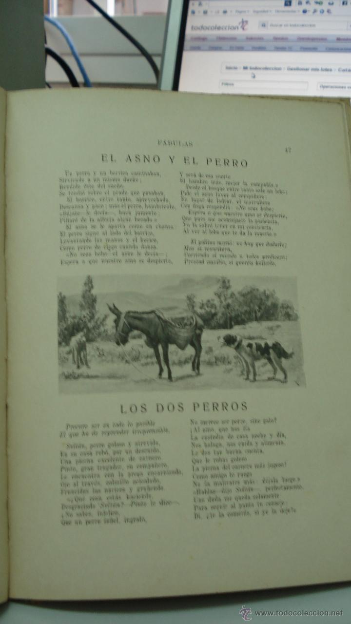Libros antiguos: fabulas de samaniego, 1934 de Felix Maria Samaniego - Foto 3 - 43286768