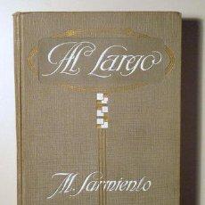 Libros antiguos: AL LARGO. CUENTOS - SARMIENTO, M. - ALOMAR, G., PROLOGO-. Lote 29440186