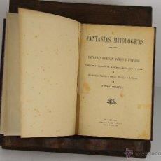 Libros antiguos: D-501. FANTASIAS MITOLOGICAS. PEDRO UMBERT. IMP. HENRICH. 1916.. Lote 45500406
