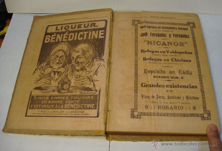 Libros antiguos: Anuario de Cádiz y su Provincia. Guía Oficial. 1923. - Foto 2 - 43365918