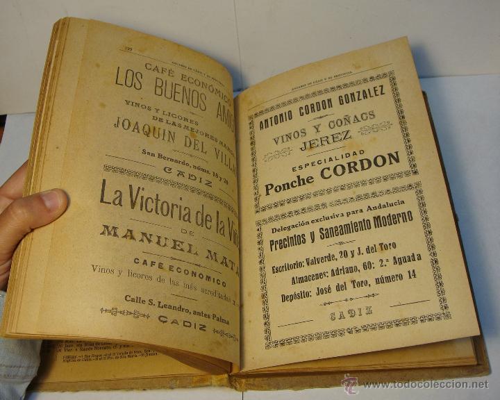 Libros antiguos: Anuario de Cádiz y su Provincia. Guía Oficial. 1923. - Foto 3 - 43365918