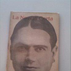 Libros antiguos: LA NOVELA CORTA. LAS INSACIABLES POR CRISTOBAL DE CASTRO.. Lote 43376277