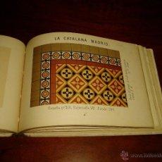 Libros antiguos: CATALOGO DE TERRAZOS. Lote 43380443