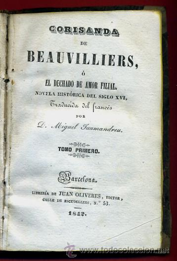 Libros antiguos: LIBRO CORISANDA DE BEAUVILLIERS 1892 , 2 TOMOS , GRABADOS , ORIGINAL - Foto 4 - 43402688