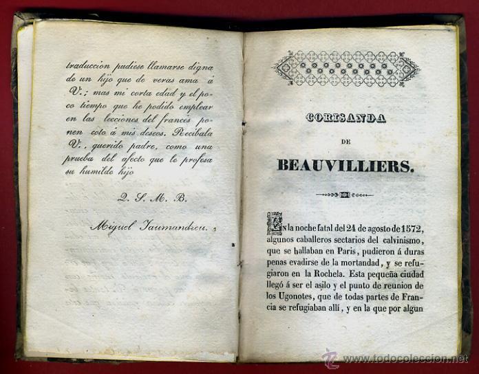 Libros antiguos: LIBRO CORISANDA DE BEAUVILLIERS 1892 , 2 TOMOS , GRABADOS , ORIGINAL - Foto 5 - 43402688