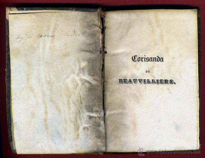 Libros antiguos: LIBRO CORISANDA DE BEAUVILLIERS 1892 , 2 TOMOS , GRABADOS , ORIGINAL - Foto 8 - 43402688