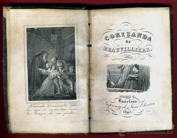 Libros antiguos: LIBRO CORISANDA DE BEAUVILLIERS 1892 , 2 TOMOS , GRABADOS , ORIGINAL - Foto 9 - 43402688