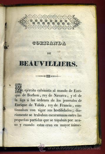 Libros antiguos: LIBRO CORISANDA DE BEAUVILLIERS 1892 , 2 TOMOS , GRABADOS , ORIGINAL - Foto 11 - 43402688