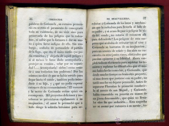 Libros antiguos: LIBRO CORISANDA DE BEAUVILLIERS 1892 , 2 TOMOS , GRABADOS , ORIGINAL - Foto 12 - 43402688