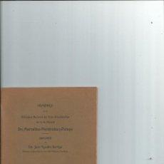 Libros antiguos: HOMENAJE DE LA BIBLIOTECA NACIONAL DE CHILE A ... MARCELINO MENENDEZ Y PELAYO 1913. Lote 43406639