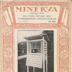 Libros antiguos: RESUM DE METEOROLOGIA E. FONTSERÉ 1919 . Lote 43427805