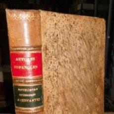 Libros antiguos: NOVELISTAS ANTERIORES A CERVANTES. BIB. DE AUTORES ESPAÑOLES III A-LESP-536. Lote 43453942