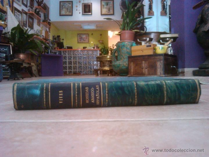 Libros antiguos: LIBRO UNICO LA DINASTIAS ARÁBIGO-ESPAÑOLAS ANTONIO VIVES Y ESCUDERO 1893 madrid P-V-P- 1243 EU ORIGI - Foto 8 - 43476369