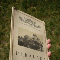 Libros antiguos: CARLOS RAHOLA: PERALADA, BIBLIOTECA DE TURISMO 1934 BARCELONA ATRACTION, FOTOS F. SERRA. Lote 43486045