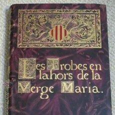 Libros antiguos: FACSÍMIL DEL PRIMER LIBRO IMPRESO EN ESPAÑA. ENCUADERNACIÓN LUJO VALENCIA SALAMANCA 1911 (VER FOTOS). Lote 43488847