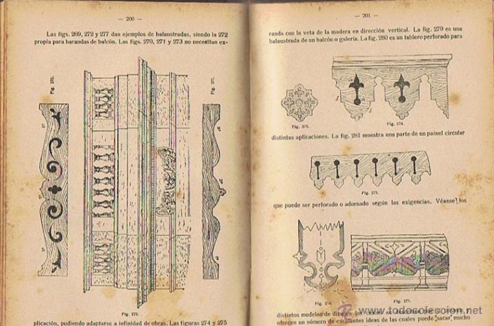 Libros antiguos: MANUAL DE CARPINTERÍA MODERNA F.T. HODGSON 1924 - Foto 3 - 43488107