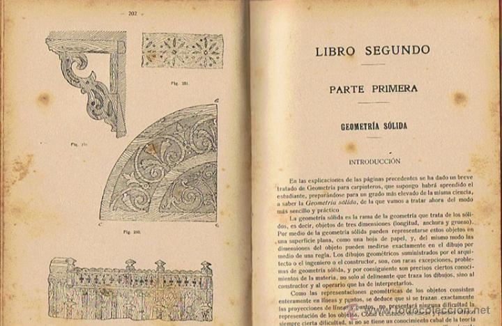Libros antiguos: MANUAL DE CARPINTERÍA MODERNA F.T. HODGSON 1924 - Foto 4 - 43488107