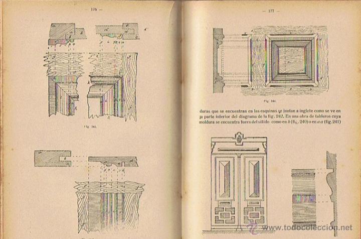 Libros antiguos: MANUAL DE CARPINTERÍA MODERNA F.T. HODGSON 1924 - Foto 5 - 43488107