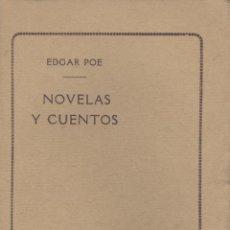 Libros antiguos: EDGAR POE. NOVELAS Y CUENTOS. PARÍS, 1923.. Lote 43434721