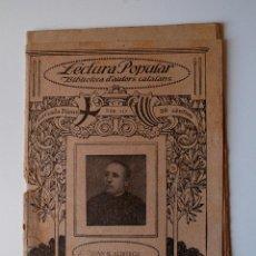 Libros antiguos: BIBLIOTECA D'AUTORS CATALANS. POESIES, DE JOAN B. ALIBERCH. Lote 43522855