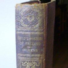 Libros antiguos: LIBRO CHILD´S HISTORY OF ENGLAND, AUTOR CHARLES DICKENS, EDITORIAL AVON EDITION, AÑO 1895?. Lote 43547700