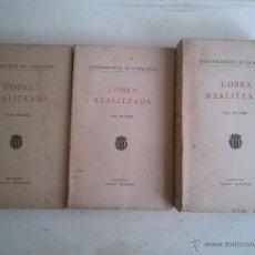 Libros antiguos: L'OBRA REALITZADA .- ANYS 1914-1923 .-MANCOMUNITAT DE CATALUNYA AGOST 1923. Lote 43552637