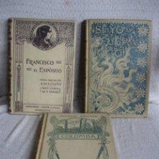 Libros antiguos: LOTE DE TRES LIBROS DE MONTANER Y SIMON. Lote 43584608
