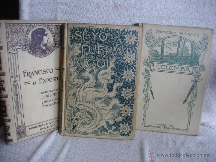 Libros antiguos: Lote de tres libros de Montaner y Simon - Foto 2 - 43584608