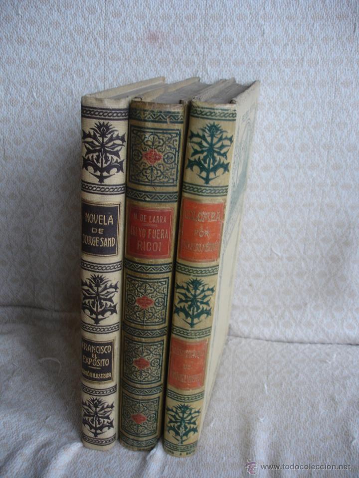 Libros antiguos: Lote de tres libros de Montaner y Simon - Foto 3 - 43584608