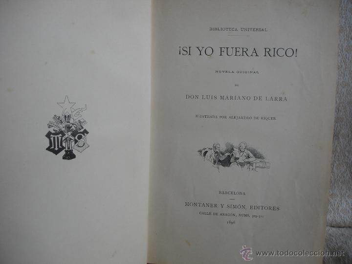 Libros antiguos: Lote de tres libros de Montaner y Simon - Foto 5 - 43584608