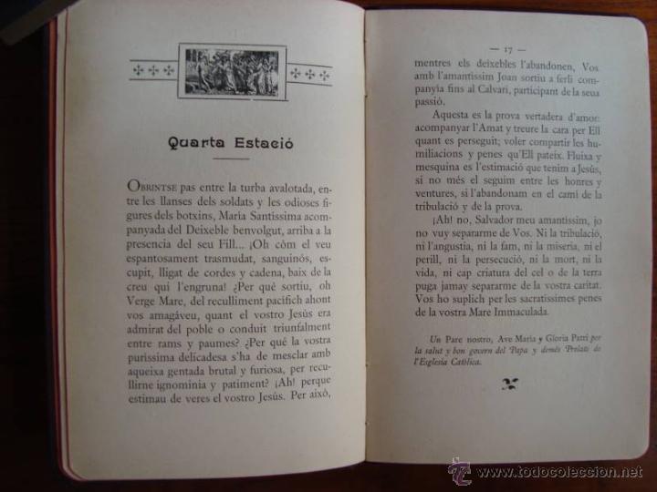 Libros antiguos: M. COSTA I LLOBERA: VIA CRUCIS. PALMA DE MALLORCA, 1907. PRIMERA EDICIÓ. - Foto 4 - 43594740