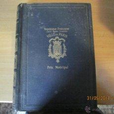 Libros antiguos: VILLA DE PARIS. G VUILLIER.EDICION LIMITADA 3300 EJEMPLARES Nº 2896 AÑO 1899.. Lote 43595746
